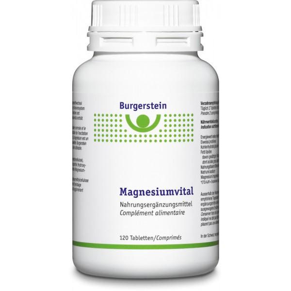 BURGERSTEIN Magnesiumvital Tabletten 120 Stück