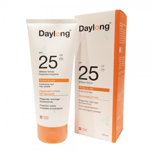 DAYLONG Protect&care Lotion SPF 25 Tube 200ml