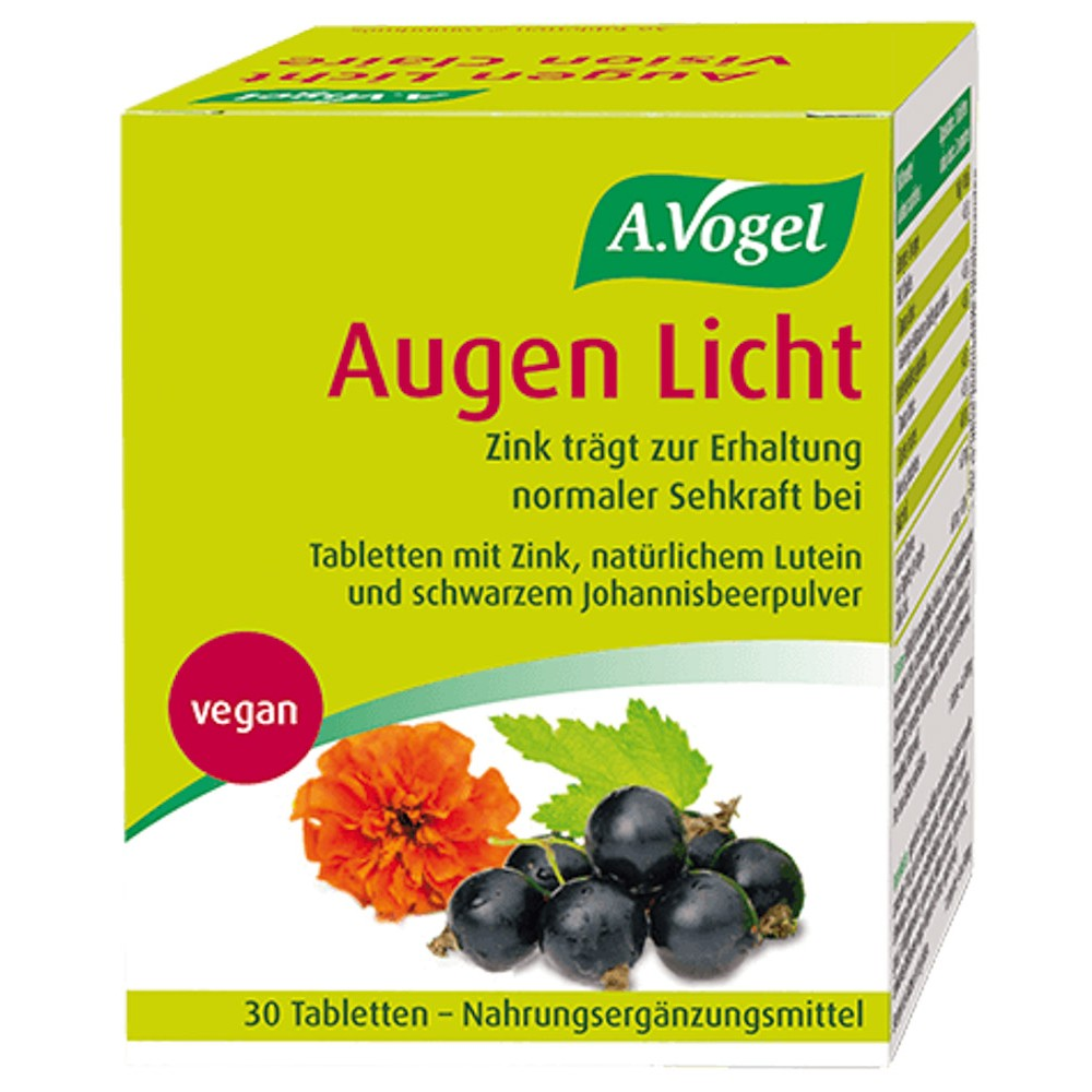 VOGEL Augen Licht Tabletten 30 Stück