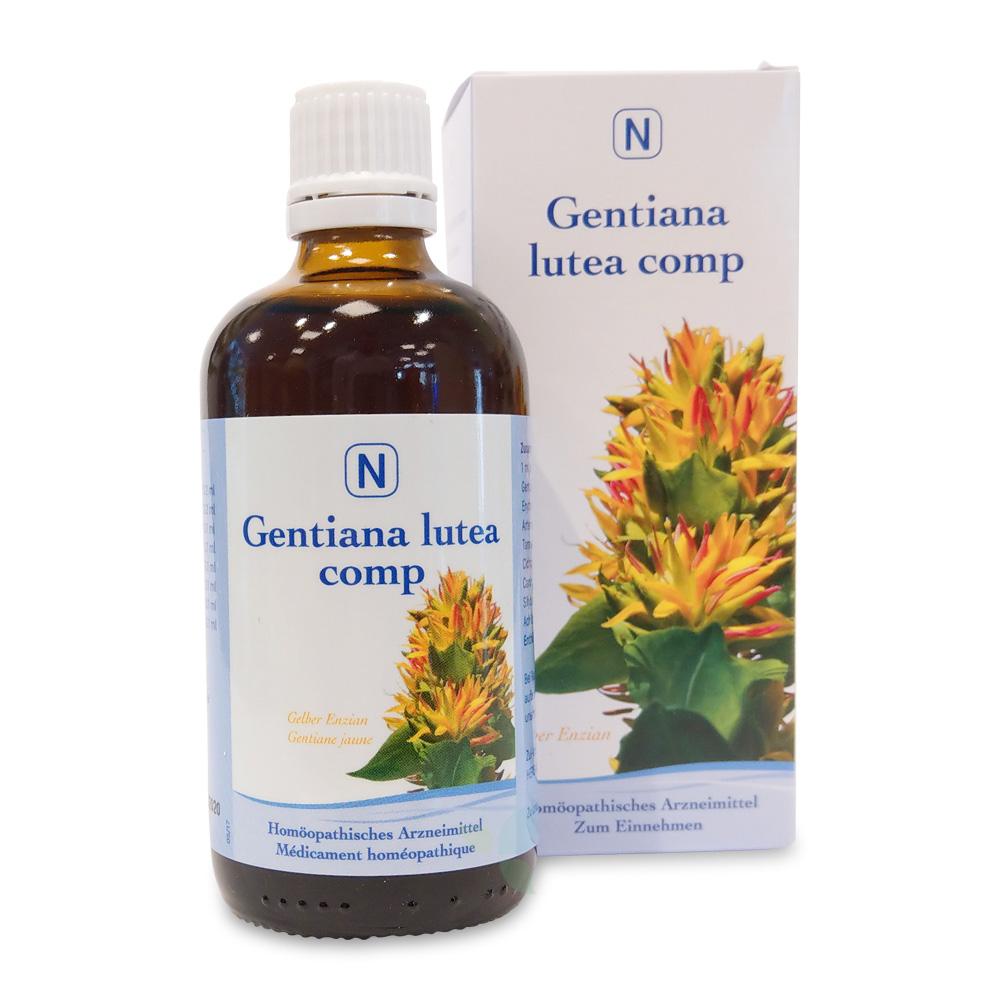 HERBAMED Gentiana lutea compositum Tropfen 100ml