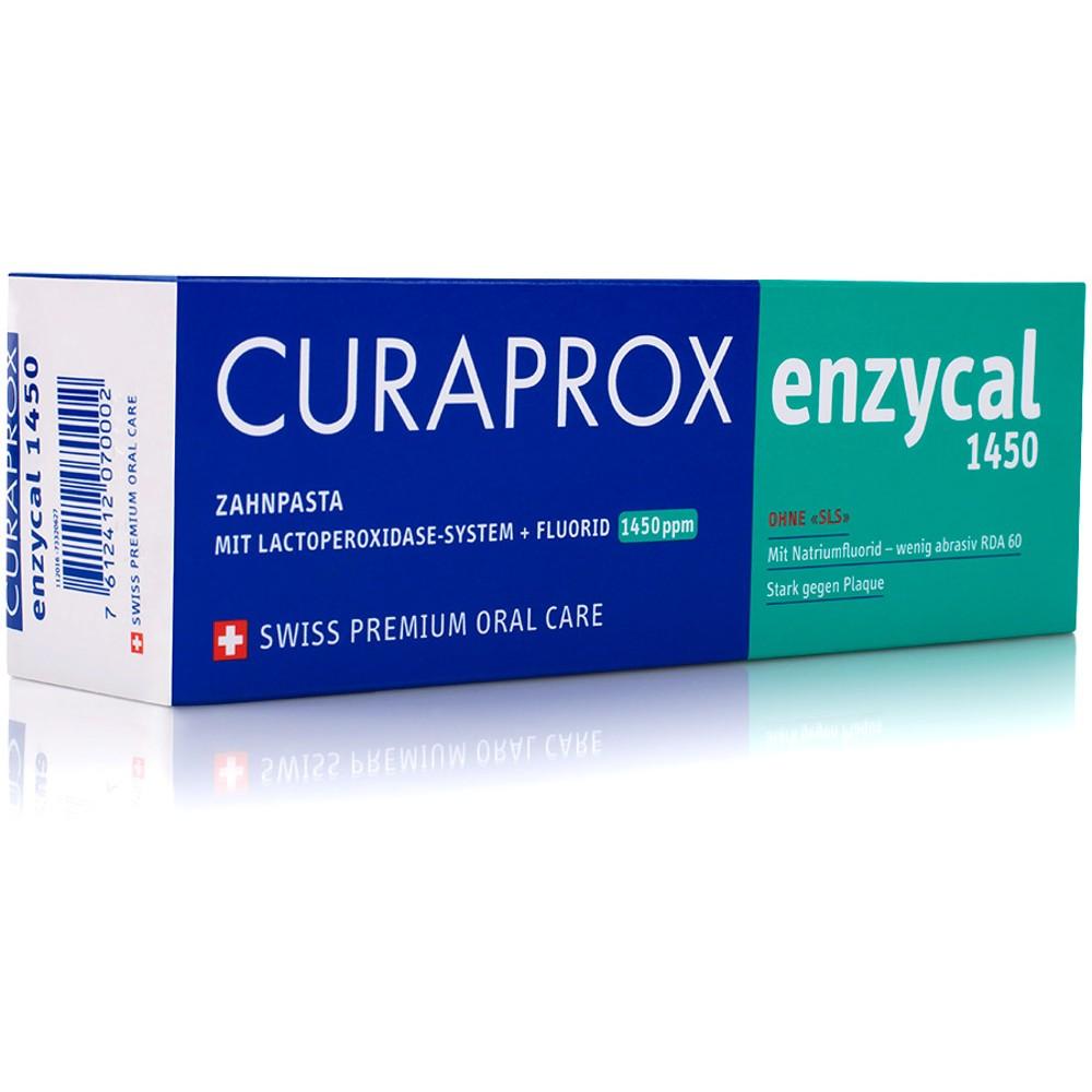 CURAPROX Enzycal 1450 Zahnpasta 75ml