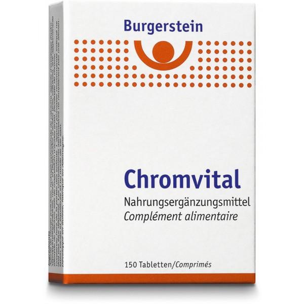 BURGERSTEIN Chromvital Tabletten 40 mcg 150 Stück