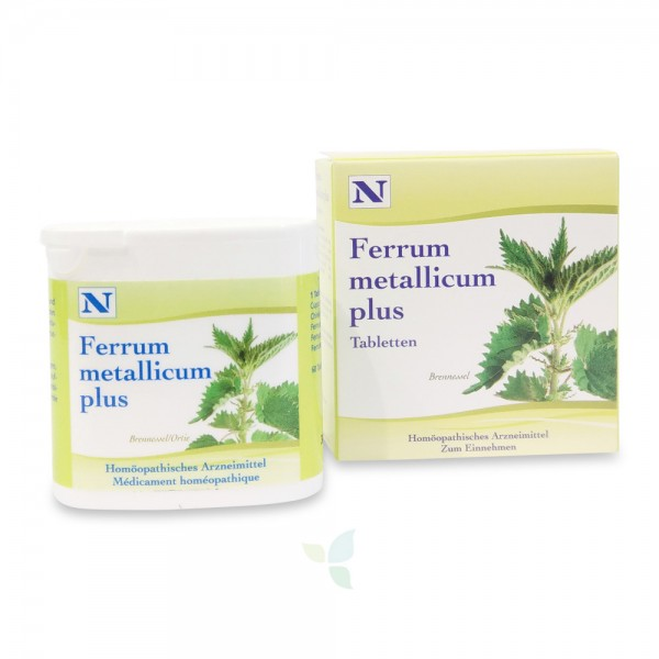 HERBAMED Ferrum metallicum plus Tabletten 60 Stück