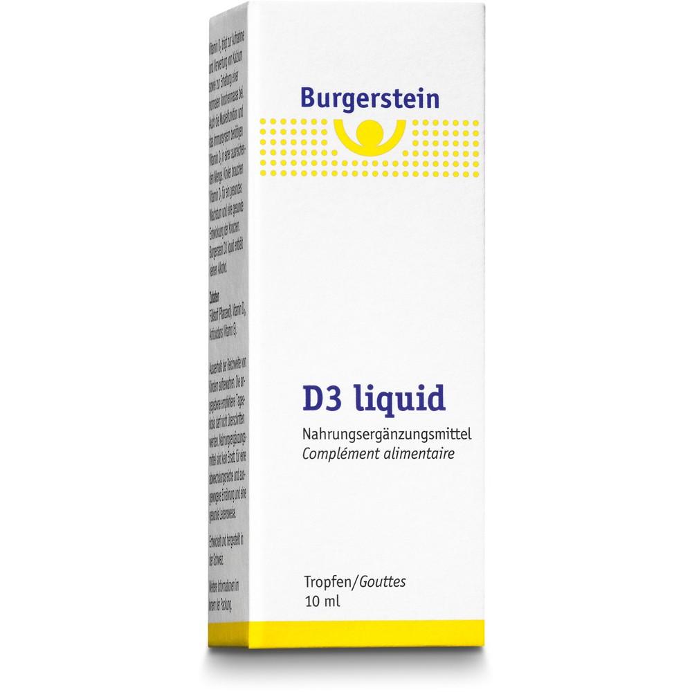 BURGERSTEIN D3 liquid Tropfflasche 11ml