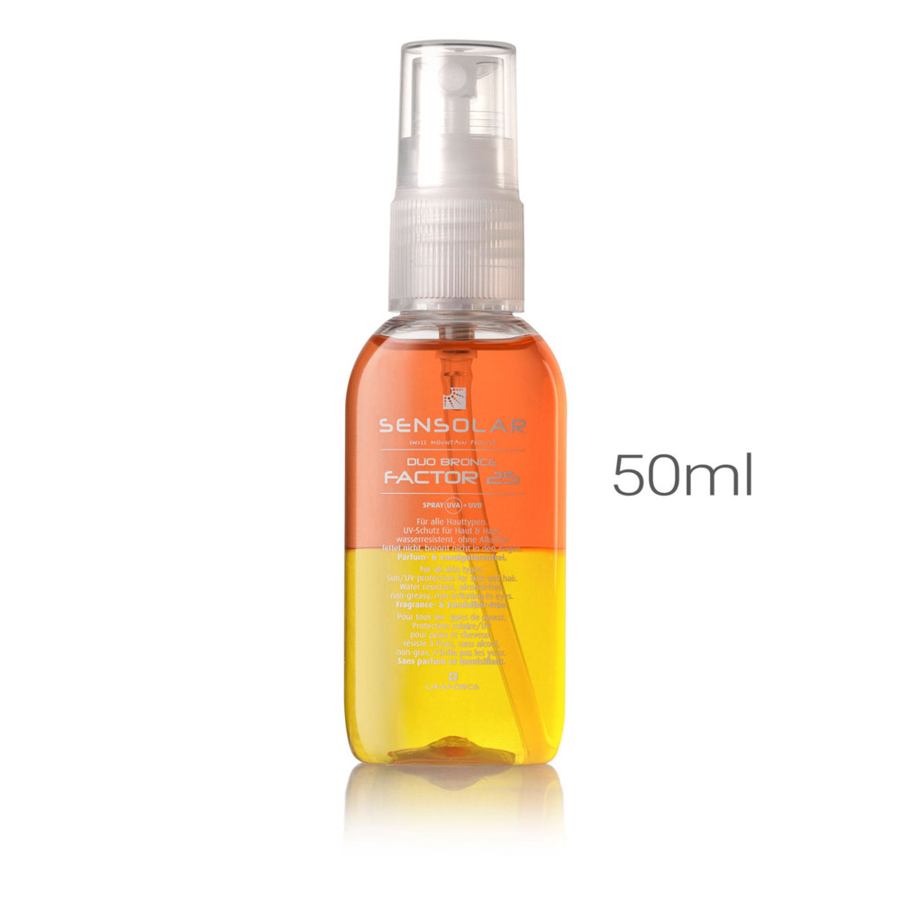 SENSOLAR Sonnenspray LSF 25 ohne Emulgator 50ml