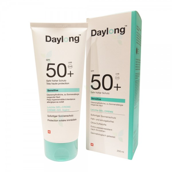 DAYLONG Sensitive Gel-Creme SPF 50+ Tube 200ml