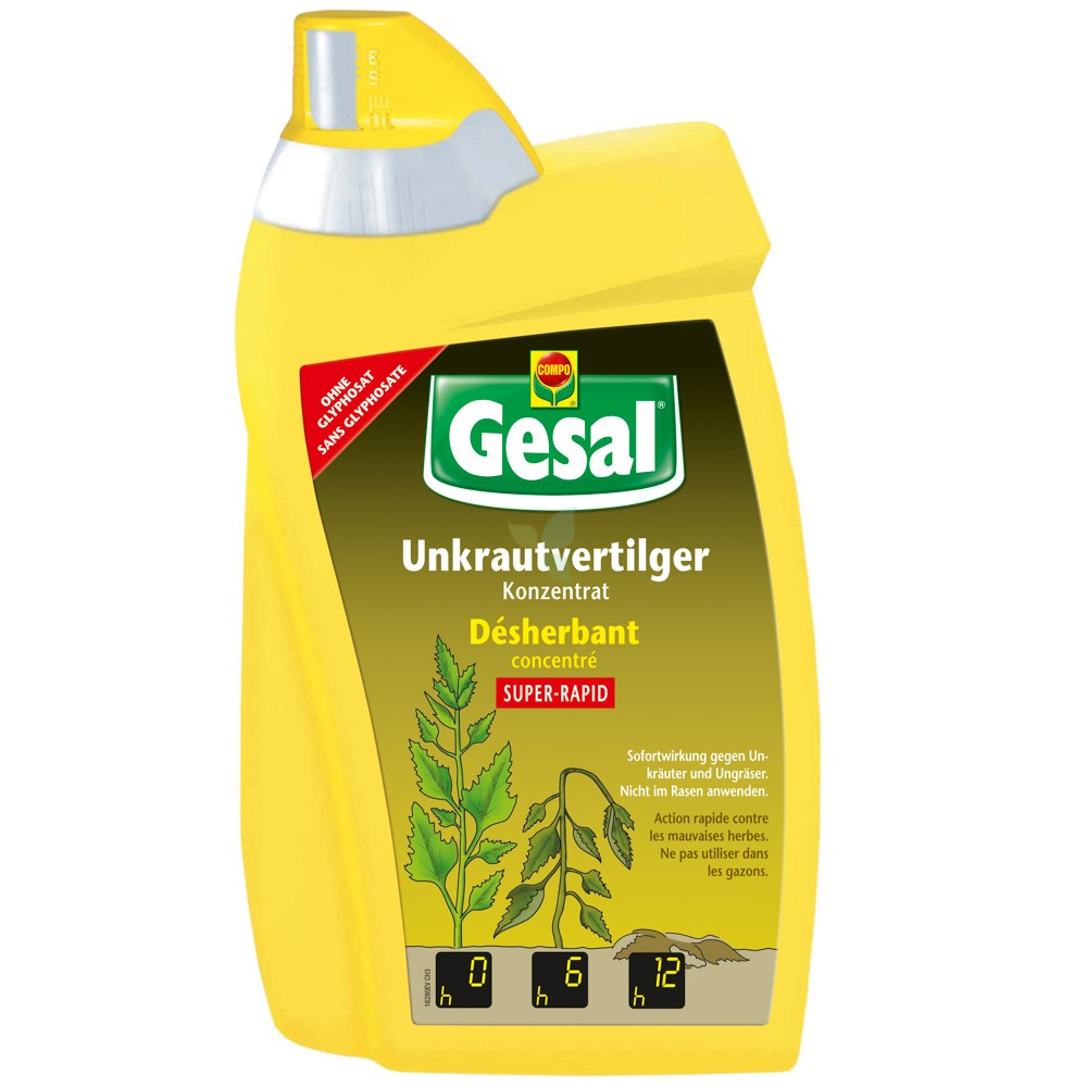 GESAL Unkrautvertilger SUPER-RAPID Konzentrat 800 ml
