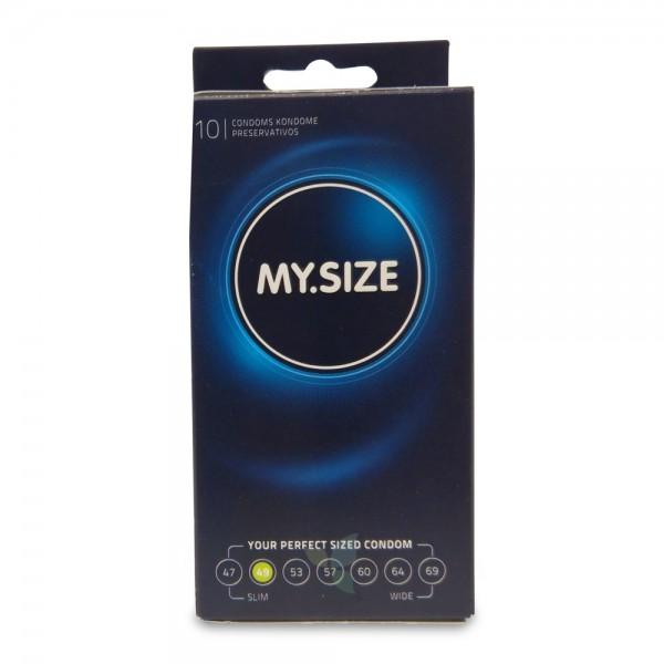 MY SIZE Kondom Präservativ 49mm 10 Stück