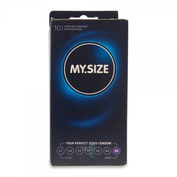 MY SIZE Kondom Präservativ 69mm 10 Stück