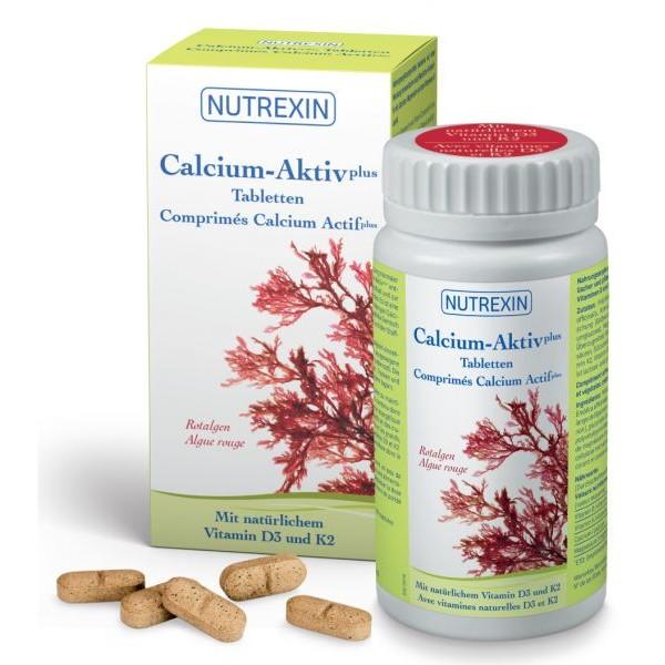 NUTREXIN Calcium-Aktiv plus Tabletten Dose 120 Stück