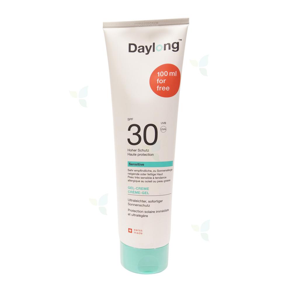 DAYLONG Sensitive Gel-Creme SPF 30 Tube 300ml