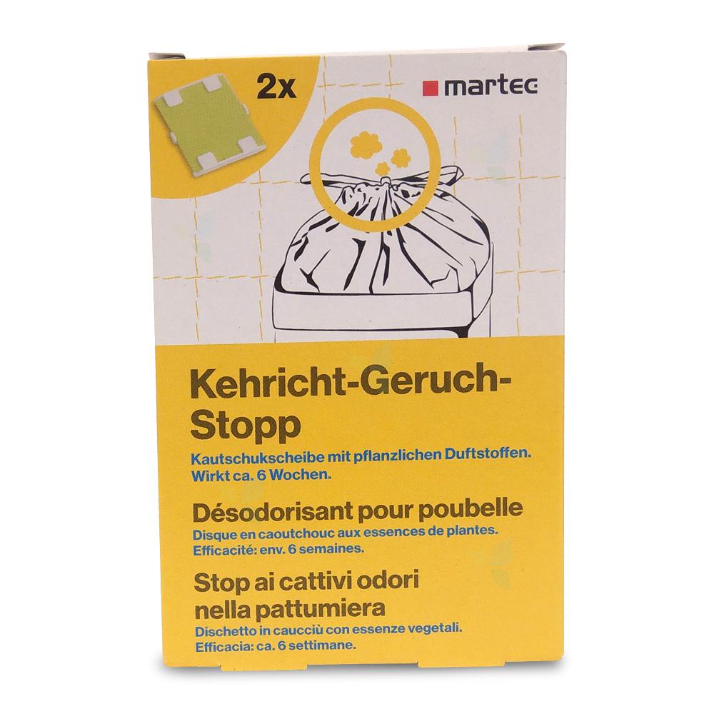 MARTEC Kehricht Geruch Stopp 2 Stück