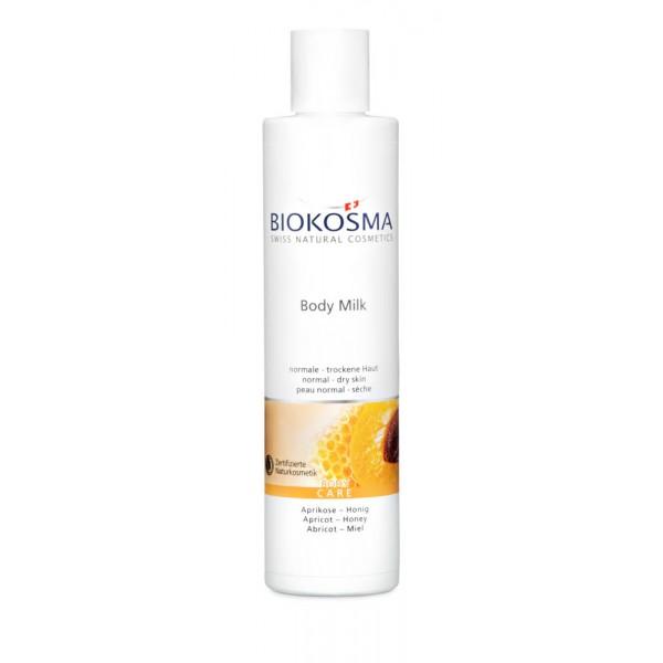 BIOKOSMA Body Milk Aprikose-Honig 250ml