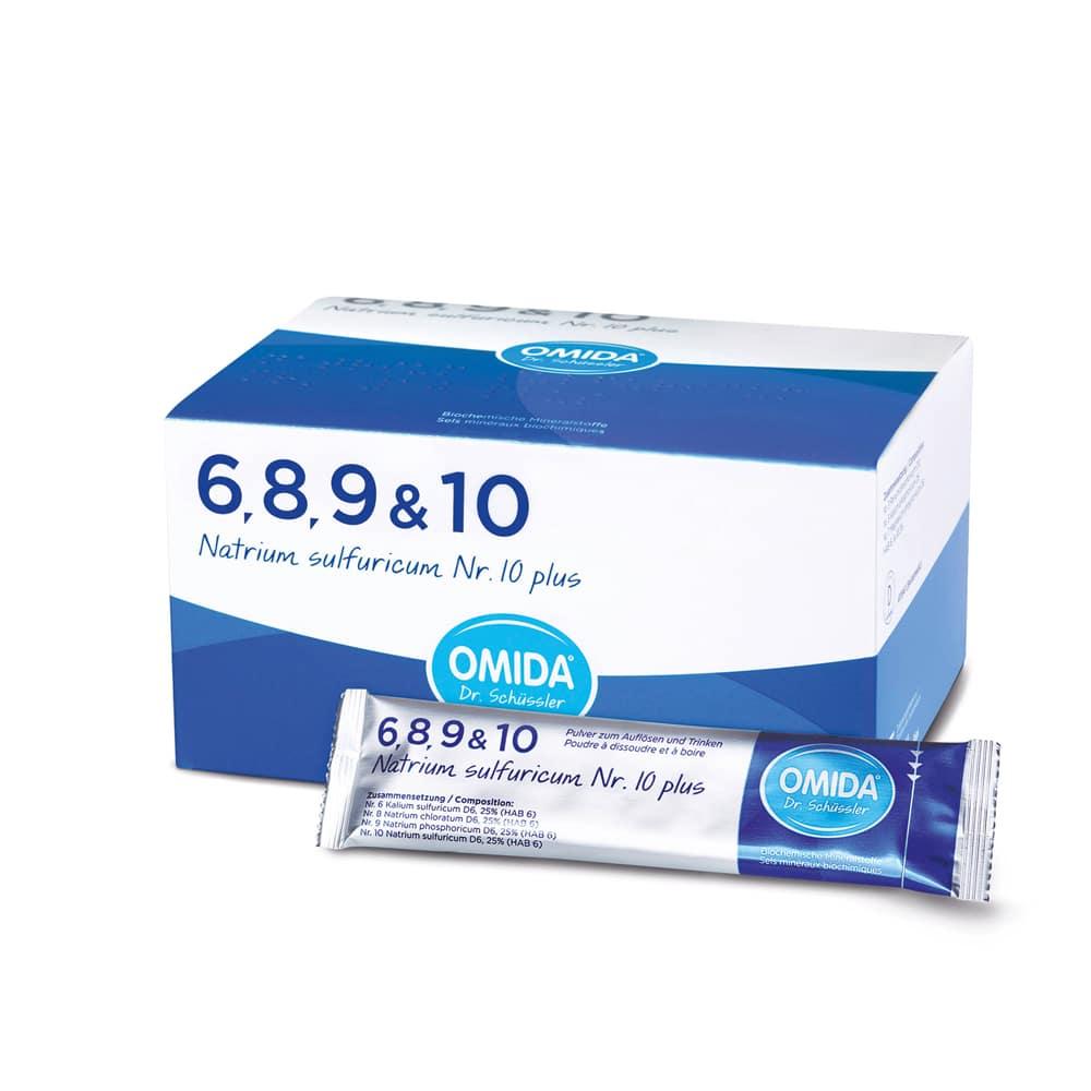 OMIDA SCHÜSSLER 10 Natrium sulfuricum plus 30 Beutel