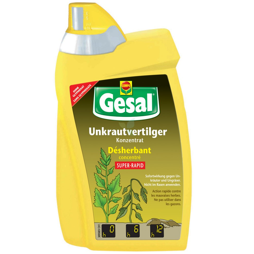 GESAL Unkrautvertilger SUPER-RAPID Konzentrat 500ml