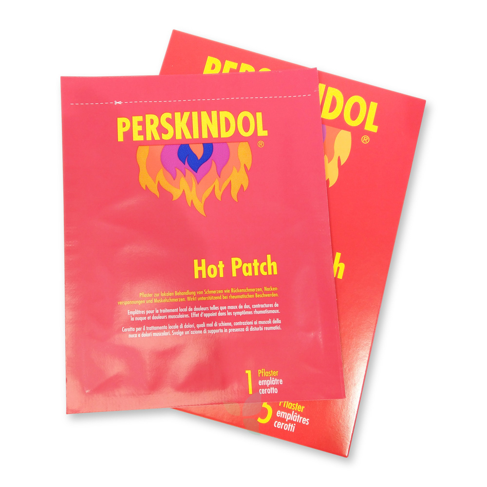 PERSKINDOL Hot Patch 5 Stück
