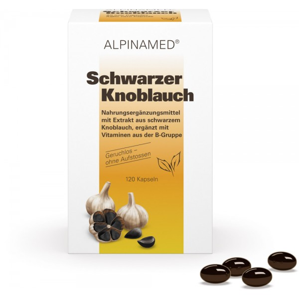 ALPINAMED Schwarzer Knoblauch Kapseln 120 Stück