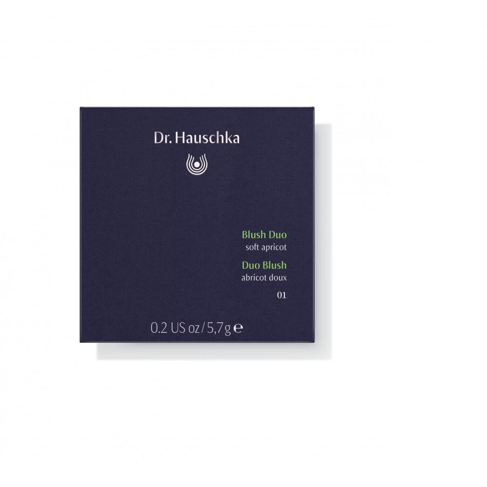 DR. HAUSCHKA Blush Duo 01 soft apricot 5.7g