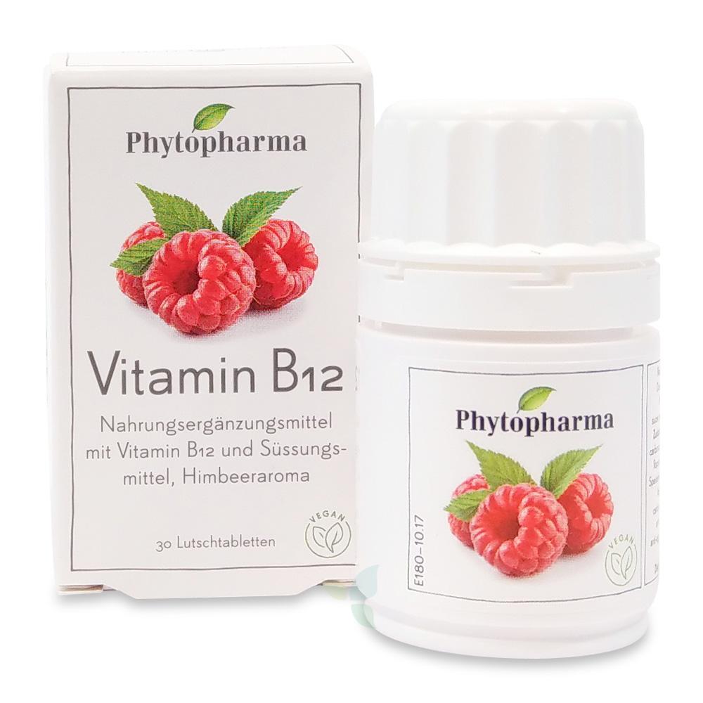 PHYTOPHARMA Vitamin B12 Lutschtabletten 30 Stück