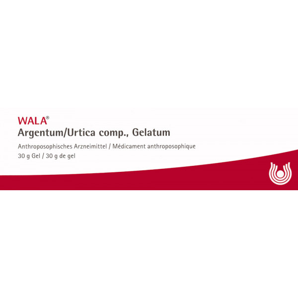 WALA Argentum/Urtica comp Gelatum Tb 30 g