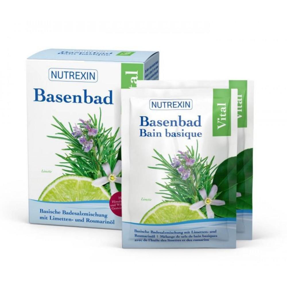 NUTREXIN Basenbad Vital 6 Beutel 60g