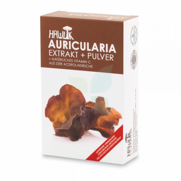 HAWLIK Auricularia Extrakt + Pulver Kaps 60 Stk