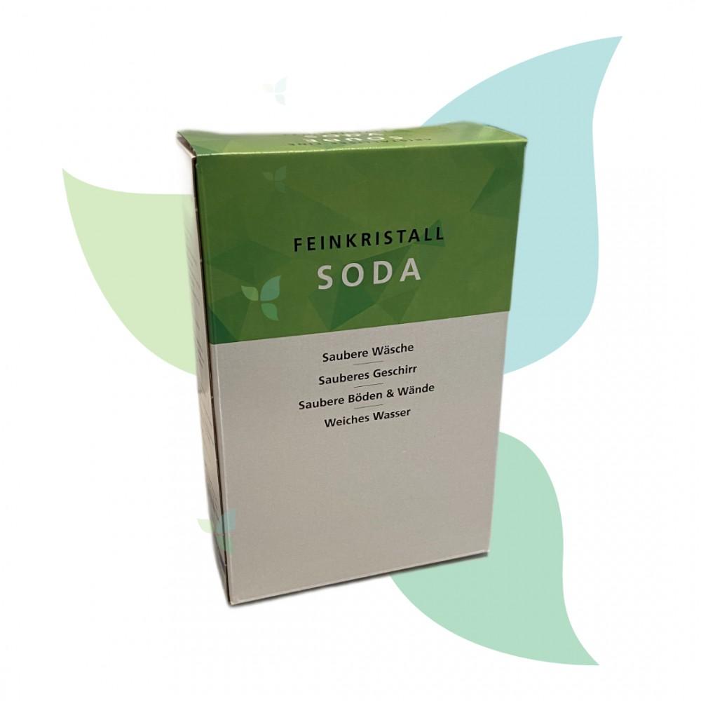 FEINKRISTALLSODA Green Pulver Karton 1 kg