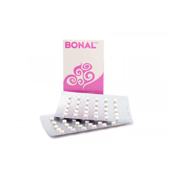 BONAL Folic Folsäure Tabletten 60 Stück