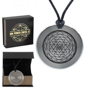 Ion Power Swiss Amulett Edelstahl