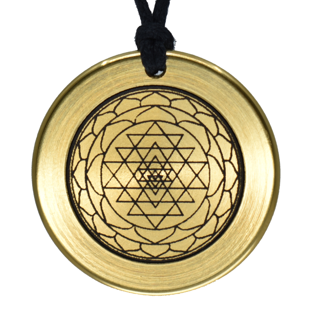 Ion Power Swiss Amulett Gold