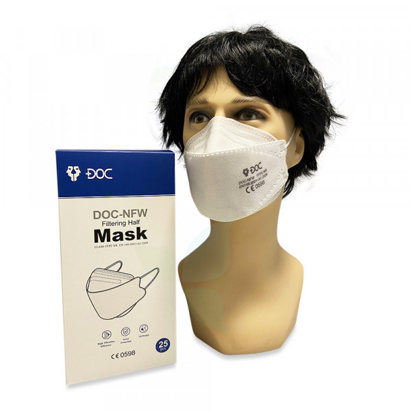 DOC-NFW FFP2 Filtering Half Mask Pandemie 25 Stück