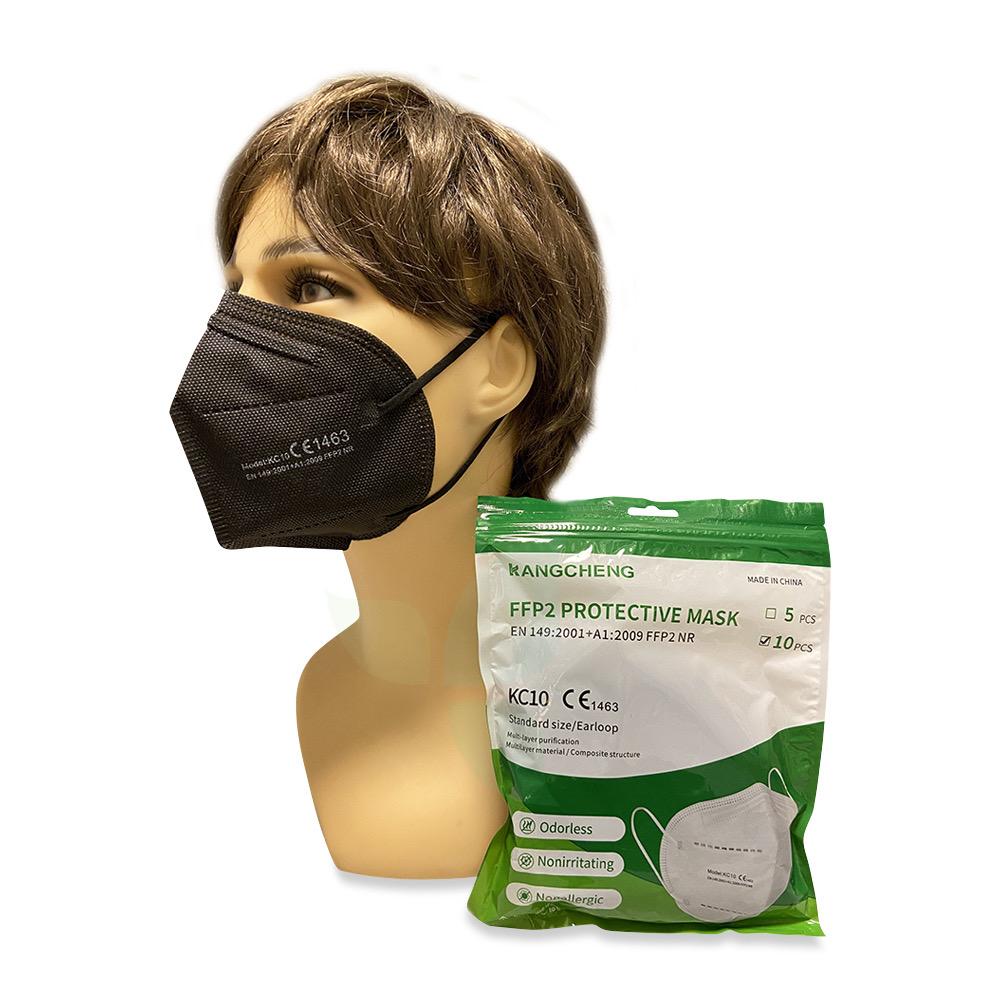 Kangcheng FFP2 Protective Mask 10 Stück schwarz